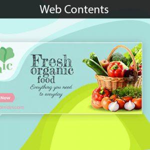 Konten website design